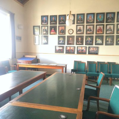 Gallery in the council chamber