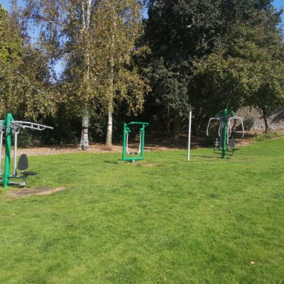Outdoor gym - Click to open full size image