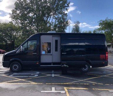 Covid Testing Kit Van